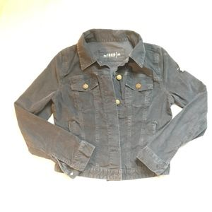Gray Corduroy GAP Denim Style Jacket